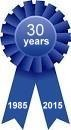 30 years - Blue Ribbon