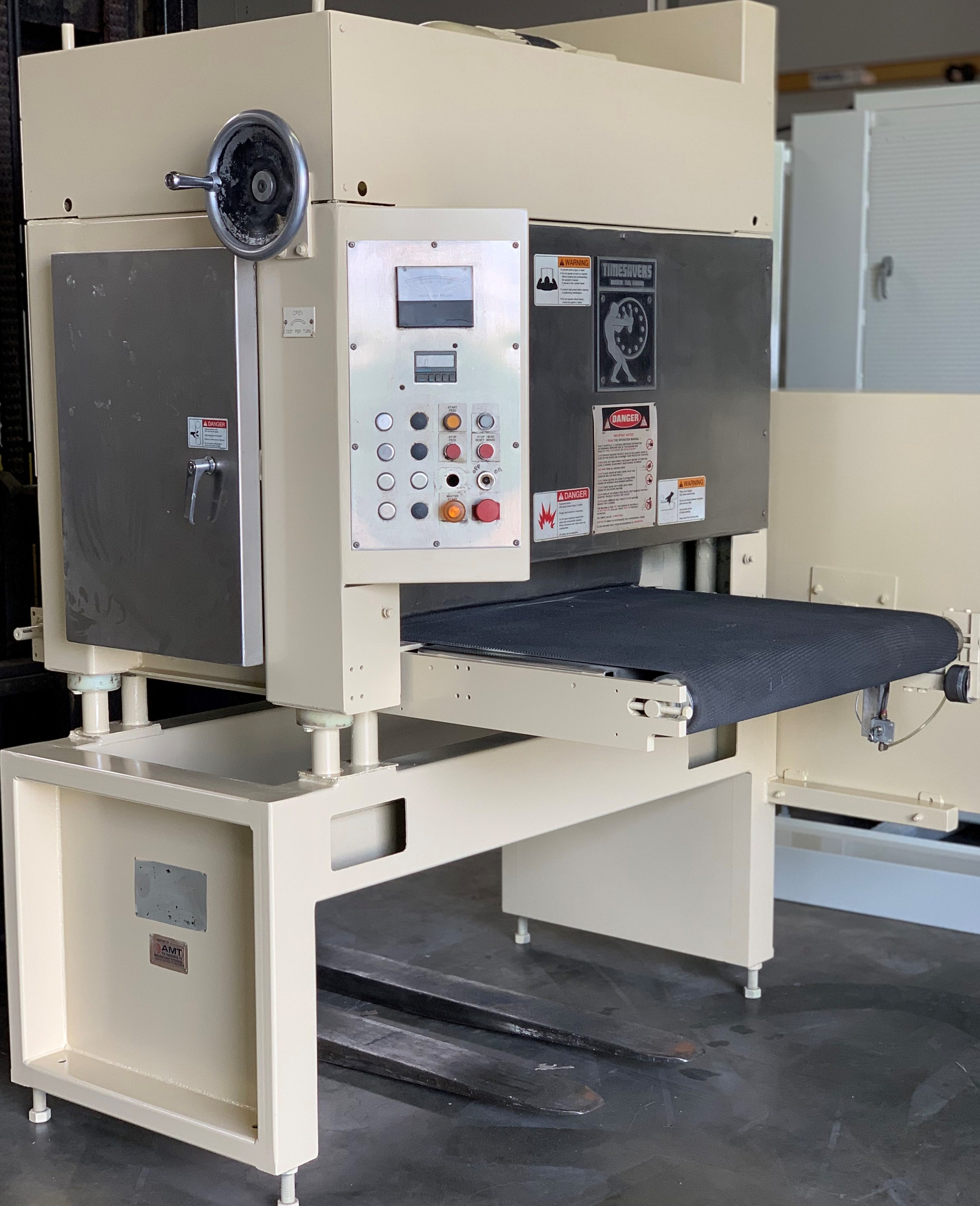 Used Machine Shop Equipment in Pomona, CA - Timesaver 37″ Dry 137-1HP/7